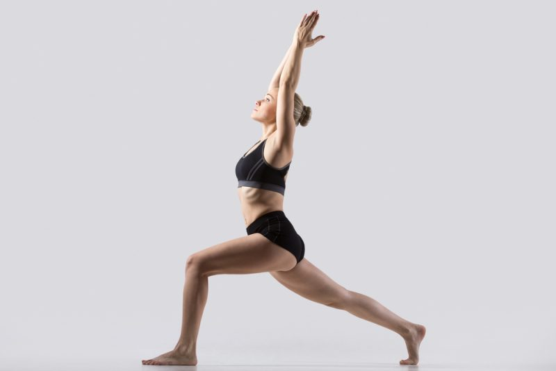 Anjaneyasana — Crescent Pose