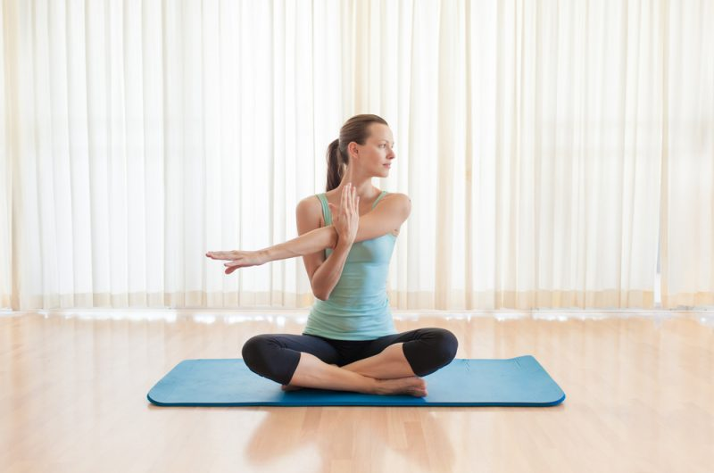 Arms Across Chest Pose