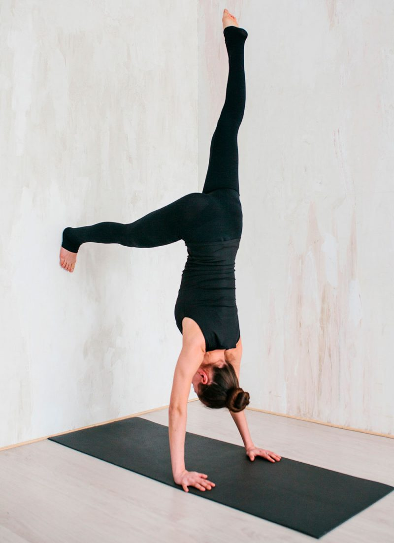 L-Shaped Handstand