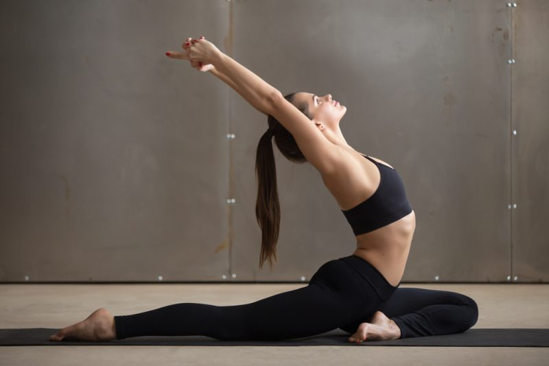 One-Legged Pigeon Pose