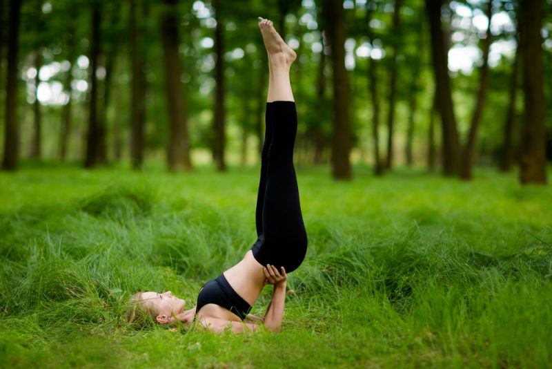 Sarvangasana — Shoulder Stand Pose
