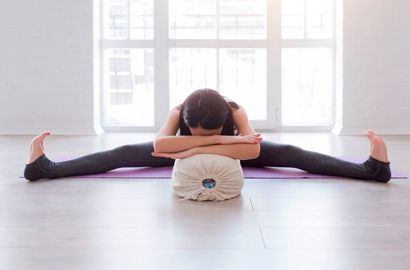 Supported Seated-Angle Pose