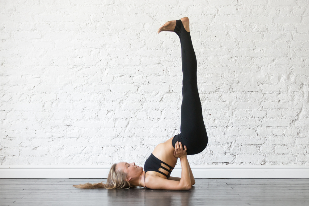 Viparita Karani — Legs Up The Wall Pose