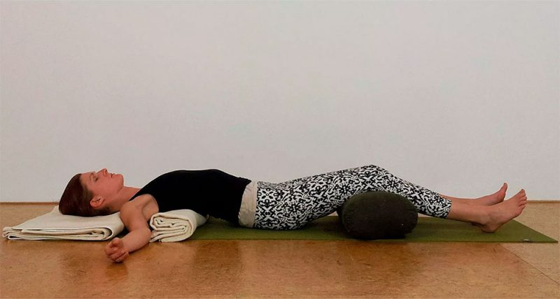 Salamba Matsyasana Blankets — Mountain Brook Pose