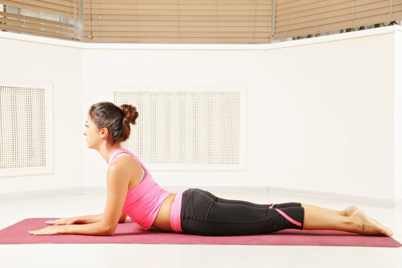 Sphinx Pose for a Pinched Nerve in the Lower Back