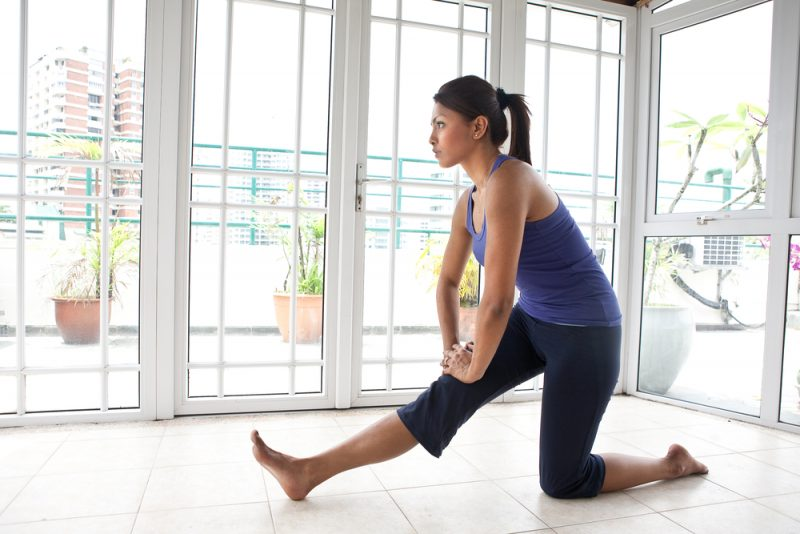 Therapy and Safety for Your Knees in Yoga