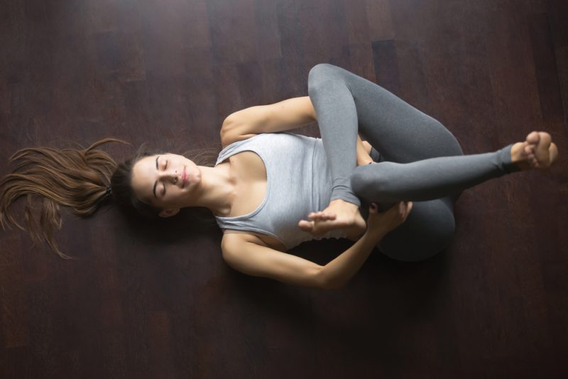 Use A Figure-Four Instead of Pigeon Pose