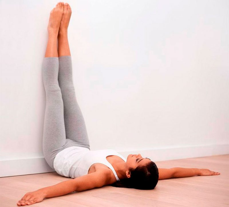 Use Legs Up the Wall Instead of Shoulder Stand