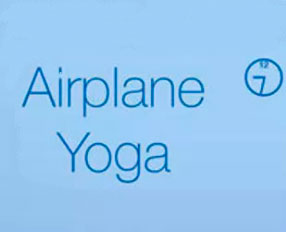 Airplane Yoga