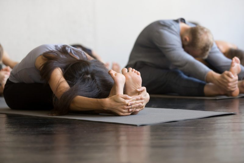 Paschimottanasana — Seated Forward Bend Pose