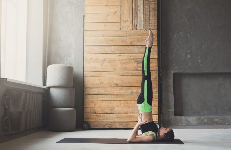 Salamba Sarvangasana — Shoulder Stand Pose