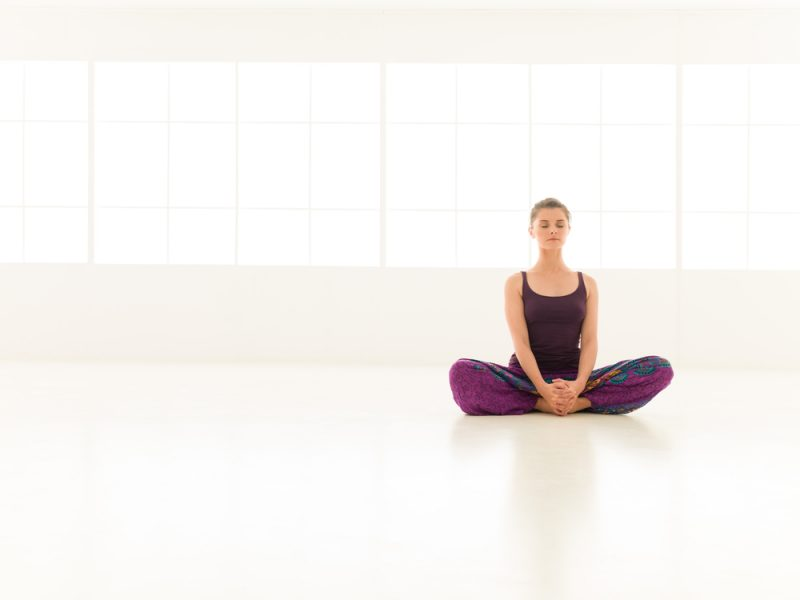 Baddha Konasana — Seated Butterfly with Tiger Paw and/or Foot Massage