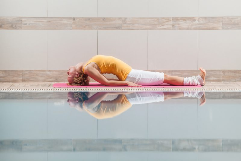 Matsyasana — Fish Pose