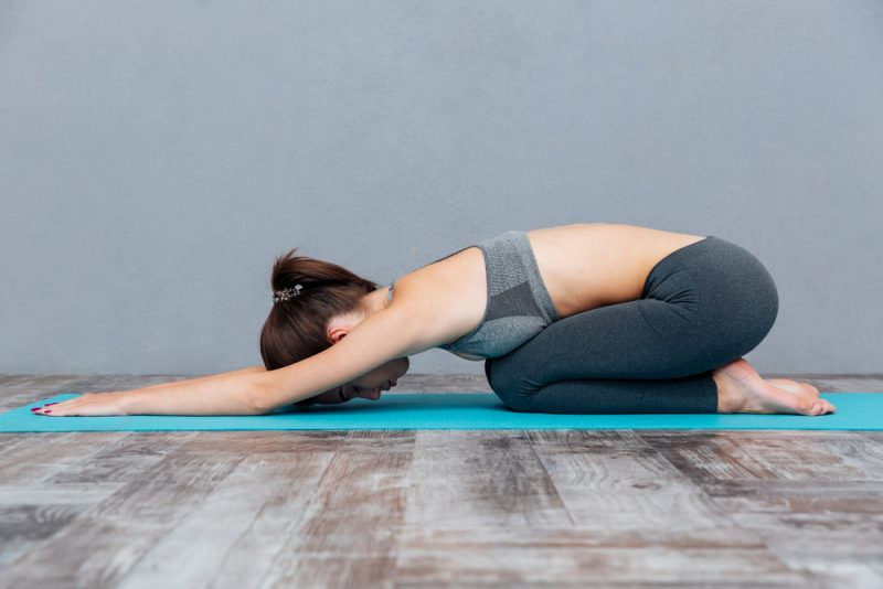 Melt Your Body Into The Mat