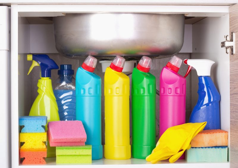 Old Cleaning Supplies
