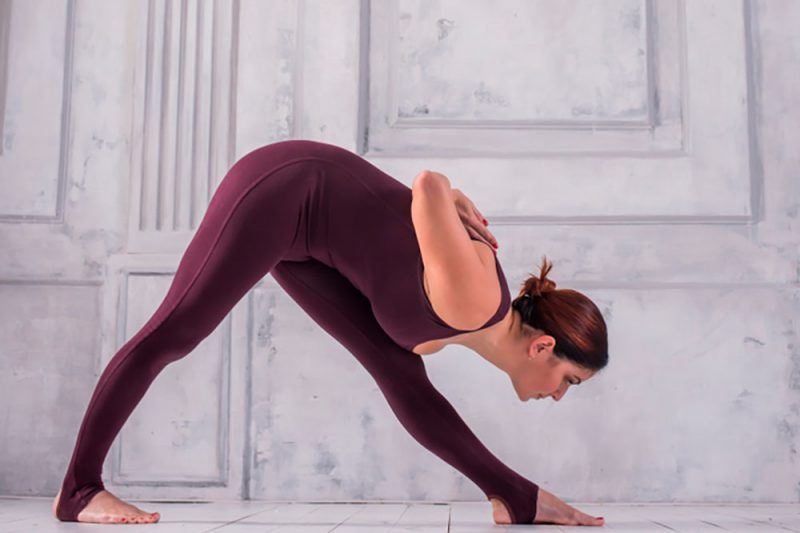 Parsvottanasana  — Intense Side Stretch Pose