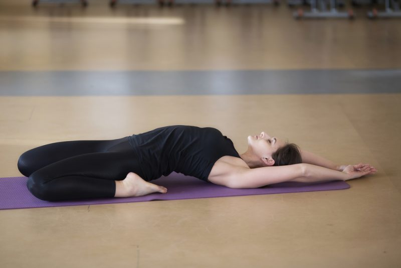 Supta Virasana — Reclined Hero Pose