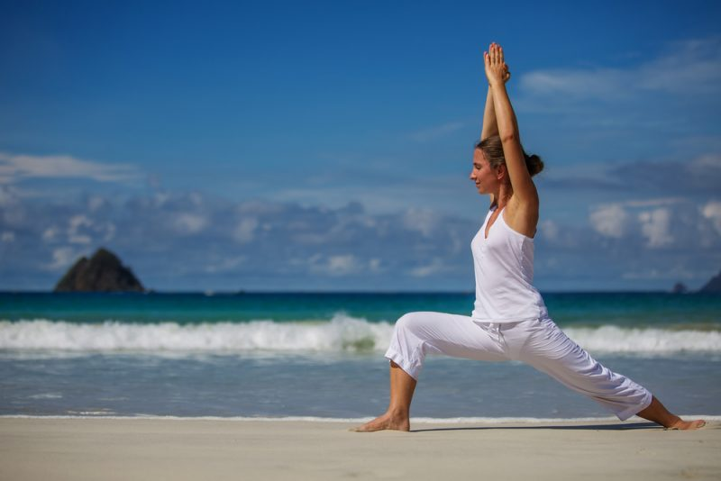 Virabhadrasana I — Warrior I Pose