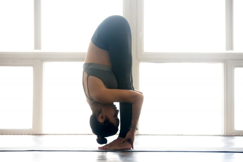 Padahastasana — Hand Under Foot Pose