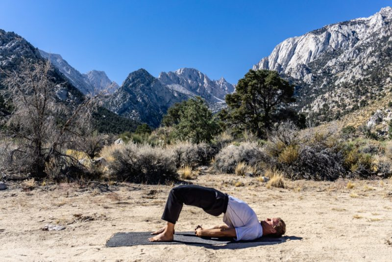 Setu Bandhasana — Bridge Lift Pose