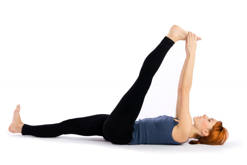 Supta Padangusthasana — Reclined Hand To Big Toe Pose