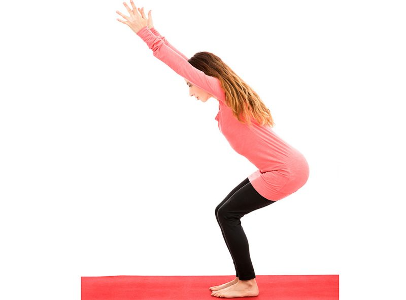 Uttkatasana — Chair Pose