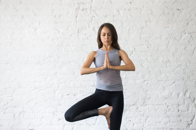 A Note on Practicing Tree Pose Safely