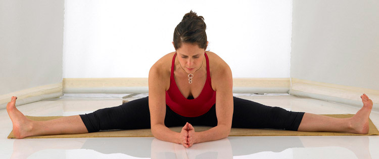 Upavistha Konasana — Wide-Angle Seated Forward Bend Pose