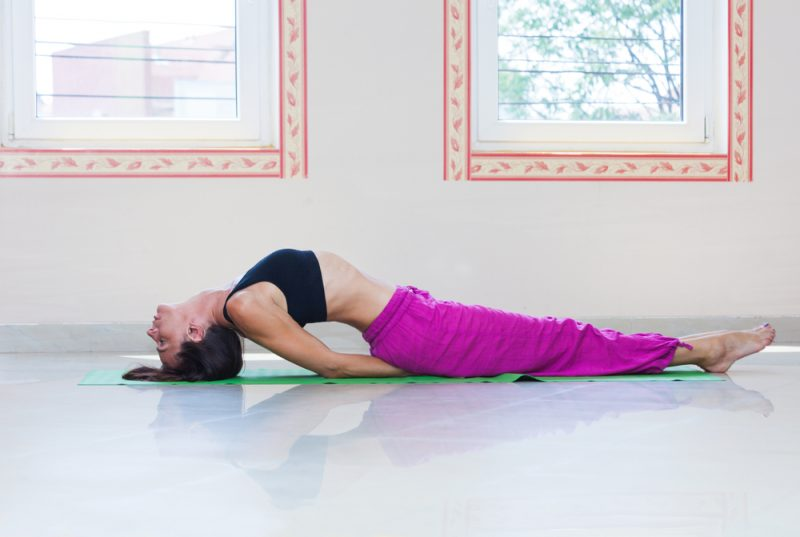 Matsyasana – Fish Pose