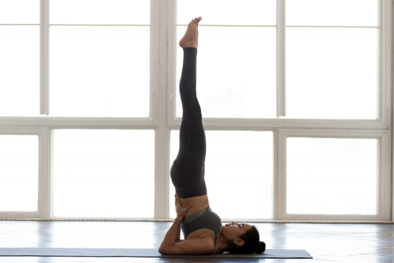 Sarvangasana – Shoulderstand Pose